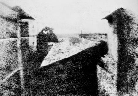 niepce-primul clişeu fotografic1826