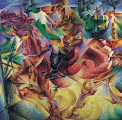 umberto-boccioni-elasticita-1912-milano-civico-museo-darte-contemporanea