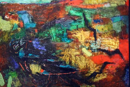 """Ravens over the Valley of Emek"" -Mordecai Ardon"