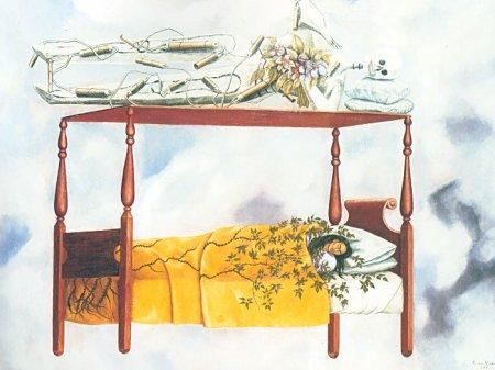 frida kahlo- the dream