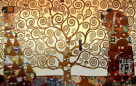 klimt l'arbre de vie