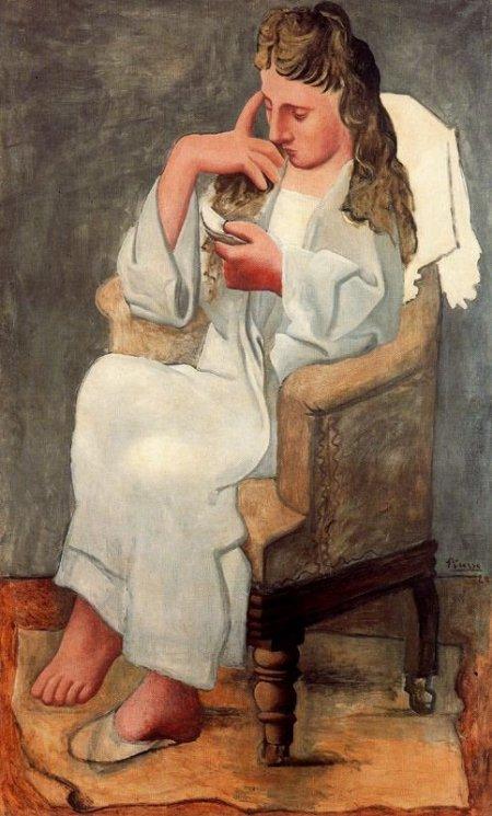 Picasso_La lectora, 1920