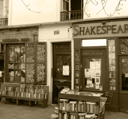 shakespeare a paris