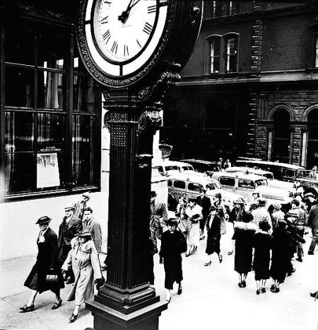 Tempo of the City Fifth Avenue and 44Th Street. May 13, 1938